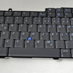 Tastatura laptop second hand Dell D610 D810 Layout Germana H4381