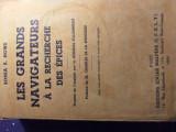 Marii navigatori 1939, harta.  Rara.