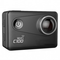 Camera Video Sport 4K iUni Dare C100 Black, WiFi, GPS, mini HDMI, 2 inch LCD, by Soocoo