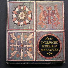 Tamplarie  veche  pictata  din  Ungaria