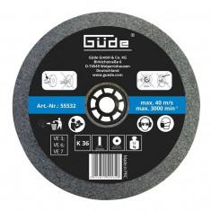 Disc abraziv pentru polizor de banc Guede Gude55532 O200x25x32 mm K36