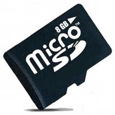 Card de memorie MicroSDHC 8GB, Class 10, Negru