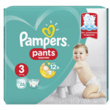 Cumpara ieftin Scutece chilotel Pampers Pants Carry Pack Nr 3 Midi, 6-11 kg, 26 buc.