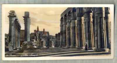 AD 587 C. P. VECHE - LUXOR - THE TEMPLE -EGYPT foto