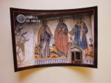 Carte poștală - Frescă exterioară Biserica Olari Curtea de Argeș