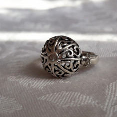 INEL argint MATY PARIS luxury FRANTA de efect SPLENDID manopera EXCEPTIONALA rar