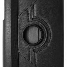 Husa tip carte neagra cu stand rotativa pentru Asus MeMO Pad 8 ME180A