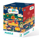 Puzzle - Budapesta (120 piese) PlayLearn Toys, Dodo