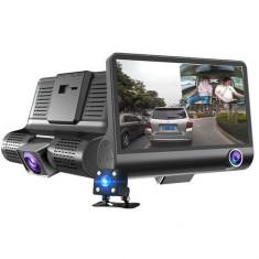 Camere auto DVR, 3 camere video Full HD Q300