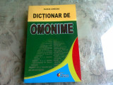 DICTIONAR DE OMONIME - ELENA CRACEA