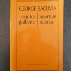 George Bacovia - Scantei galbene {bilingva romana-rusa}
