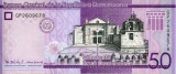 REPUBLICA DOMINICANA - 50 Pesos Dominicanos 2017
