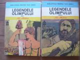 AL. MITRU - LEGENDELE OLIMPULUI (biblioteca pentru toti copiii, 2 volume) - 1983