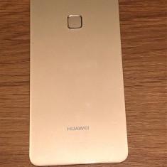 Capac original Huawei P10 lite cu amprenta gold swap