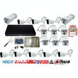 Cumpara ieftin Kit supraveghere video profesional 16 camere Rovision OEM DAHUA 2MP IR 80m si IR 20m , accesorii incluse, live internet