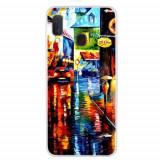 Cumpara ieftin Carcasa Husa Samsung Galaxy A20e model A Rainy Night, Antisoc + Folie sticla securizata Samsung Galaxy A20e Full 3D Tempered Glass Viceversa