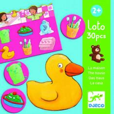 Loto cu obiecte Djeco