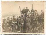 Fotografie militari romani 1942 Ploiesti al doilea razboi mondial
