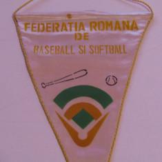 Fanion -  Federatia Romana de BASEBALL si SOFTBALL