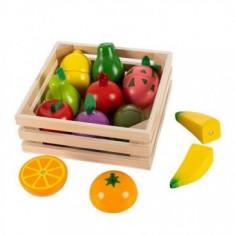 Set de fructe cu magnet pentru copii 3+ ani
