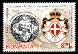 Romania 2012, LP 1961, Ordinul de Malta, seria, MNH! LP 9,70 lei