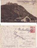 Deva - Vedere-Cetatea- rara, Circulata, Printata