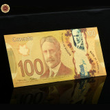 A2872 Canada 100 dollars Fantezie Aurita Aur Gold 24K