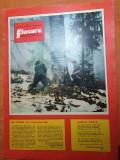 Flacara 8 februarie 1975-art. si foto tractorul brasov.garla mare ,maramures