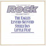 The History Of Rock - The Eagles / Lynyrd Skynyrd (1985 - UK - 2 LP / NM)