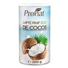 Lapte Praf de Cocos Bio 200gr Pronat Cod: PRN0363
