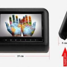 "Monitoare DVD pentru Tetiere auto Avi USB AV IN SD CARD Display 9"" culoare NEGRU"