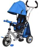 Tricicleta cu sezut reversibil Sunrise Turbo Trike Blue