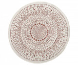 Covor de exterior Reversible Twin Mandala Terra 140 cm - Hanse Home