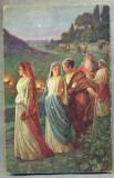AD 275 C. P. VECHE -QUO VADIS ?- THE NIGHTLY WANDERING OF THE CHRISTIANS -PATATA, Franta, Circulata, Printata