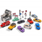 Cumpara ieftin Set Majorette Mega box 10 masinute si accesorii