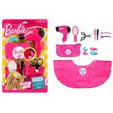 Barbie set coafor Mega Creative, 9 piese, 3 ani+