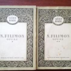 Opere 1, 2 - N. Filimon