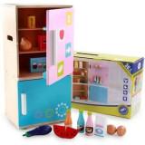 Cumpara ieftin Frigider de jucarie din lemn pentru copii