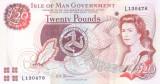 Bancnota Isle of Man 20 Pounds (2013) - P49 UNC