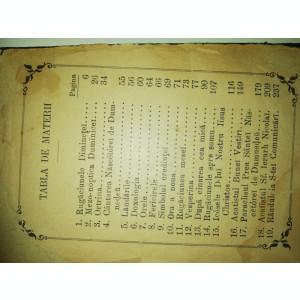 BIBLIE VECHE - CARTE DE RUGACIUNI 1895 - FOILE NU MAI SUNT LEGATE - VEZI FOTO