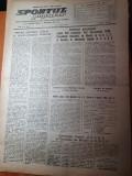 Sportul popular 5 martie 1953-comunicatul despre boala grava a lui stalin