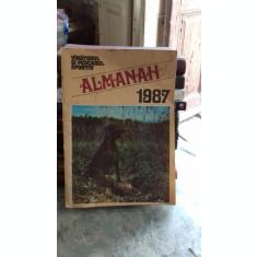 ALMANAHUL VANATORULUI SI PESCARULUI SPORTIV 1987