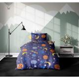 Set 3 piese lenjerie pat copii Viada Rocket, 150 x 200 cm