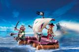 Jucarii Playmobil – Pluta cu pirati, 8-10 ani, Unisex
