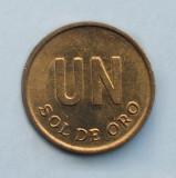PERU  -  1 Sol de Oro 1975, America Centrala si de Sud