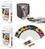 Hartie Foto Polaroid ZINK 60 buc + Album Foto Polaroid + Set Rame Foto Polaroid