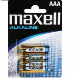 Blister 4 buc baterie Alcalina AAA LR3, Maxell MN2400