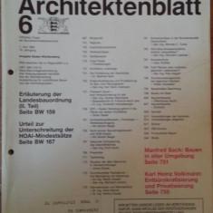 Deutsches Architektenbaltt 6