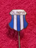 "Insigna (veche) fotbal - ""OLIMPIA"" BUCURESTI"