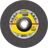 Klingspor - A 624 T SUPRA - Disc polizare inox, 230x22.2x6 mm